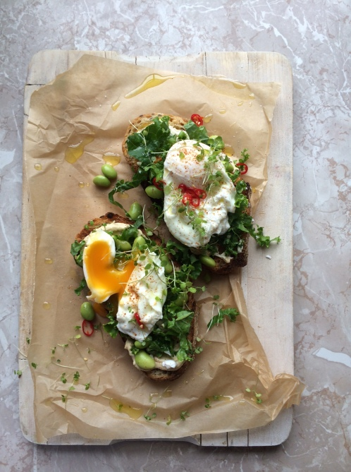 kale eggs with chilli lara style 3