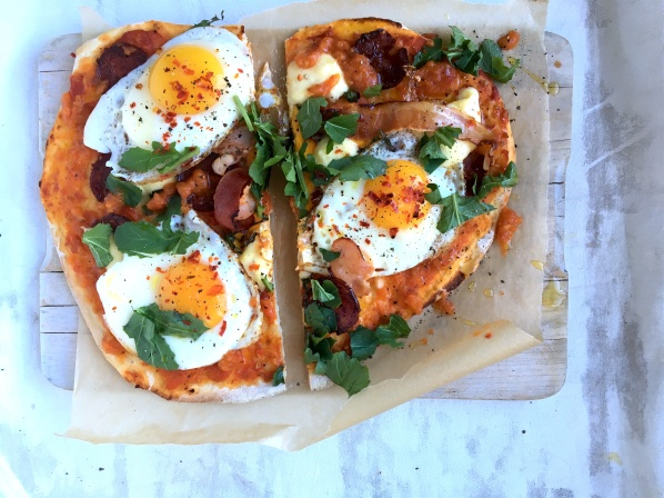 eggs pizza style